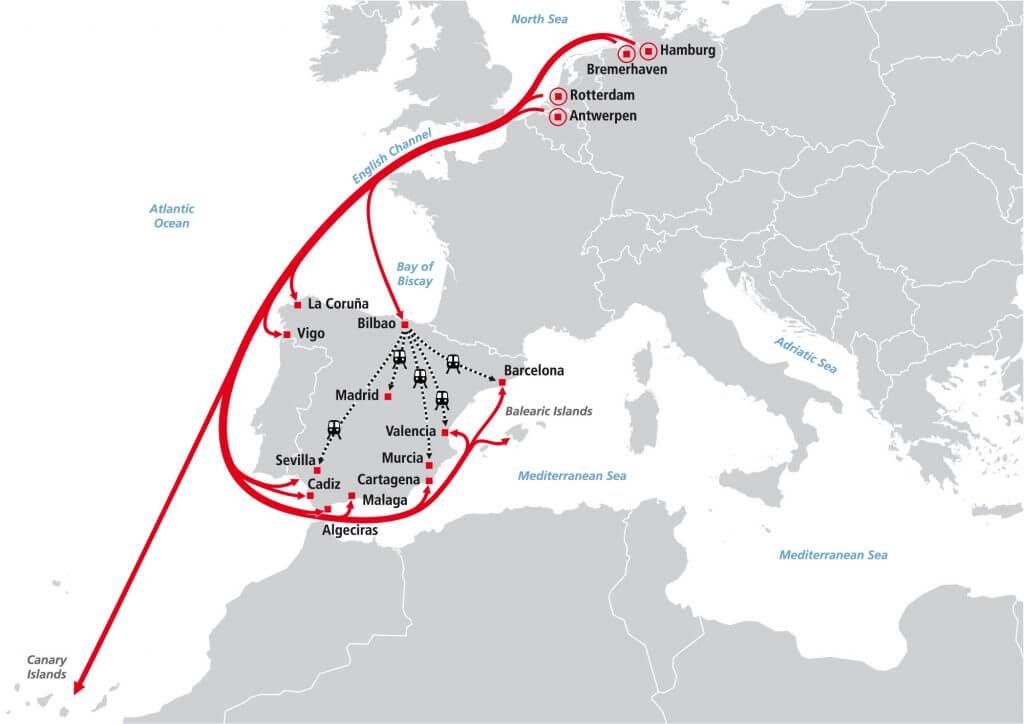 Shortsea - Spain