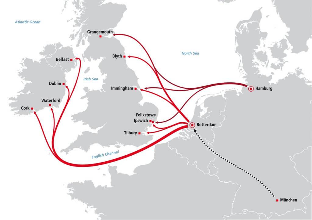 Shortsea - Großbritanien und Irland