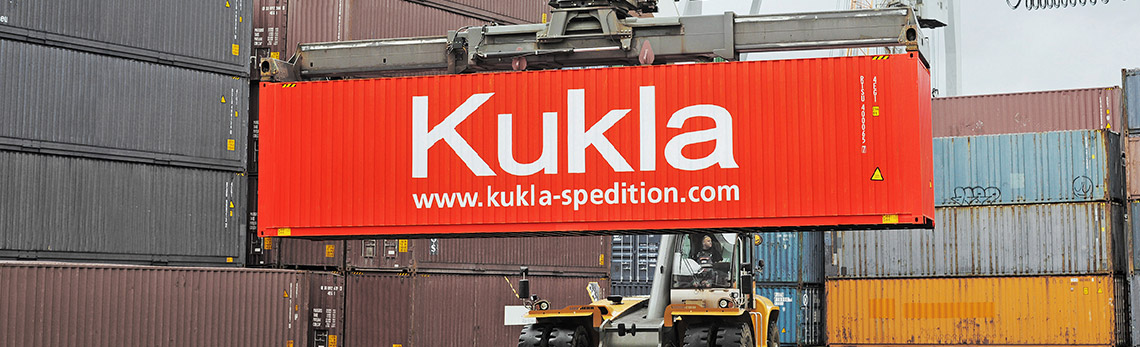 Kukla Container Spedition Logistik Verkehre