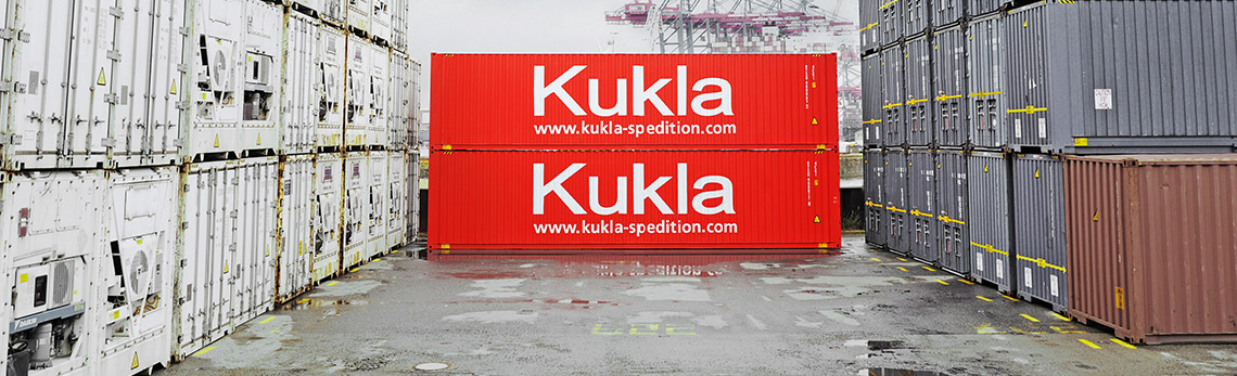 Container Kukla Spedition Logistik Verkehre