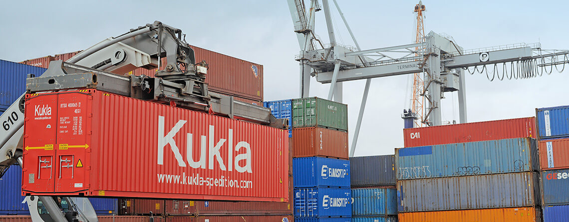 Kukla Container Aktion Logistik